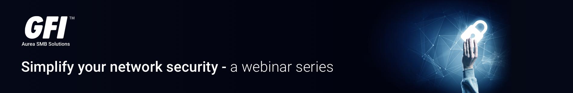 Webinar series banner